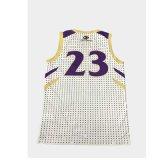 Impressão por sublimação de tinta personalizada Camisola de basquetebol para Academy