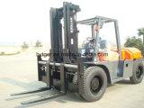 Forklift 10ton Diesel com braçadeiras da forquilha (FD100T)