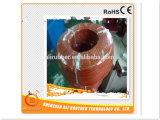 Alambre de la calefacción del caucho de silicón del diámetro 4m m 110V los 20W/M