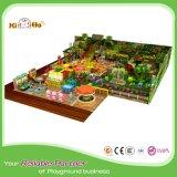 Populäre Kind-selbst gemachtes Innenspielplatz-Gerät mit grosser Trampoline