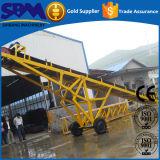 Nastro trasportatore di certificazione del Ce di Sbm, nastro trasportatore di gomma