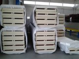De nouveaux matériaux de construction d'isolation thermique panneau sandwich en polyuréthane