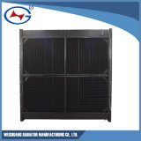 Radiador de aluminio modificado para requisitos particulares serie de la refrigeración por agua de H12V190-1740/(z) Td8d Jichai