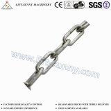 DIN763/DIN5685c long de la chaîne de liaison avec la chaîne de liaison en acier inoxydable