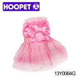 Pink Tutu Dress pour chien, vêtements pour animaux domestiques