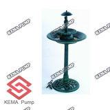 플라스틱 Birdbath Fountain (펌프에)