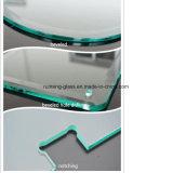 Un lato/l'acido ultra chiaro entrambi i lati ha inciso il portello di vetro