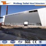 Costruzione prefabbricata della struttura d'acciaio per l'ufficio e le memorie del magazzino del workshop con la multi costruzione del piano