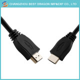 텔레비젼 상자 PVC 재킷 6FT 2m 3m 4K 2.0 고속 긴 HDMI 케이블
