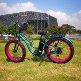 [26ينش] إطار العجلة سمينة درّاجة كهربائيّة لأنّ سيّدة