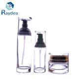 bottiglia di profumo di vetro bianca di cristallo 25cc