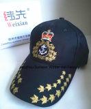 Proceso de la alta calidad, aceptación de órdenes de encargo, sombrero del ejército