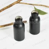 Garrafa de alumínio pequeno e preto para embalagem de alimentos (certificada pela FDA)