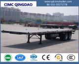 Cimc Aanhangwagen van de Opschorting van de Lorrie Flatbed Semi 40FT