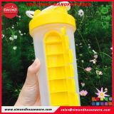 BPA liberano la bottiglia di acqua con la casella quotidiana della pillola