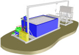 25tons/Day de Machine van het Ijs van het blok voor de Industriële Waterkoeling van de Pekel van het Gebruik