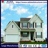 Fácil ensamblar las casas de la estructura de acero del diseño moderno