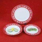 De betere Plaat van de Pizza van Kerstmis van het Vaatwerk van het Huis Ceramische Ceramische