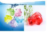 OEM&ODM 20g 색깔 최고 농도 액체 세제, 액체 세탁제, 세탁물 액체 세제 Capusle 깍지의 Variedly
