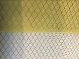 G4 급료 백색 노란 색깔에 있는 메시에 의하여 박판으로 만들어지는 매체