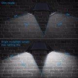 12LED極度の明るい二重ヘッドRGBカラー変更の動きセンサーの太陽屋外の点ライト