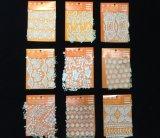 ウェディングドレス、刺繍ファブリック広いレースの寄宿生のための綿のギピールレースのレース