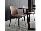 Nova Coleção 2016 Cadeiras de sala de jantar cadeira C-48 mesa de jantar cadeiras de couro branco cadeiras de jantar moderna de Alta volta cadeiras de jantar