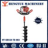 52cc Motor de gasolina del sinfín de la tierra de la herramienta de jardín