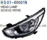 自動車部品ランプのアッセンブリはヒュンダイのアクセントのごまかしの態度2014-2016 92101-1r740/92102-1r740/92101-1r730/92102-1r730に合う