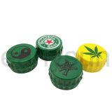 Smerigliatrice di alluminio dell'erba di stile unico per il tabagismo all'ingrosso (ES-GD-084)