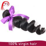 Cheveux humains Priducts de vente d'onde desserrée indienne chaude de Vierge