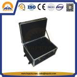 Boîtier aluminium de vol pour le transport avec les roues (HB-1600)