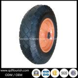 Pneu de borracha Wheelbarrow Roda pneumática para Plantadeiras de Reboque 16''