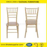 Cadeira de madeira por atacado do hotel da cadeira do casamento de Chiavari