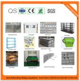 Estante del supermercado del acero frío del metal para el almacén 08067 de Cosmestic