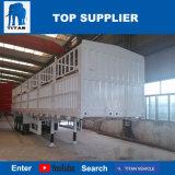 タイタンの手段-半3つの車軸高品質の塀の貨物輸送の棒のトレーラー