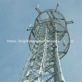 Comunicação Telecom Galvanizado Aço Ângulo auto-portantes torre do Radar
