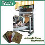 Bolsa de papel impulsada por motor automática llena avanzada de la válvula que hace la máquina