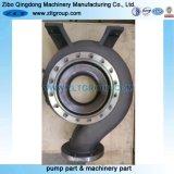 Enveloppe chimique centrifuge de pompe en matériau titanique 6X8-13