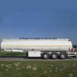 Semi Aanhangwagen van de Tanker van de Brandstof van de Staaf van het Type van twee Assen de Volledige Slepende