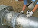 Construcción de escuelas redonda del braguero del tubo de la azotea prefabricada de la estructura de acero