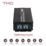 Electric 12V 220V de onda sinusoidal pura Panel solar de 1500W DC a AC Inversor de potencia de 1,5 kw