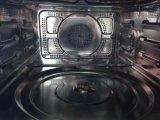 34L convecção aço inoxidável construído em forno de microondas com grill