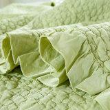 Gewaschene Baumwolle gesteppte Bett-Verbreitung, gesteppte Bettdecke