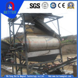 800-10000GS sèchent/séparateurs magnétiques à tambour pour le minerai pauvre/minerai (l'aimant de NdFeB)