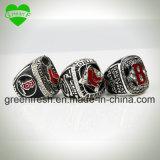 El anillo de cobre fija el anillo rojo de las existencias de la reproducción del anillo de campeonato del calcetín de Boston