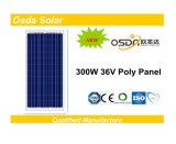 300W TUV/Approuvé Ce panneau solaire Poly