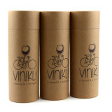 Kraft Paper Cardboard Cup Box with Matt Finishing Cylinder Packaging Box for Cup