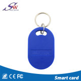Tipos de ABS Keychain da forma RFID