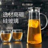 Grosse Größen-Tee-Potenziometer-Glasflasche für kaltes Wasser und Getränk